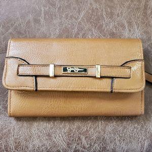 Jessica Simpson Tan Wallet